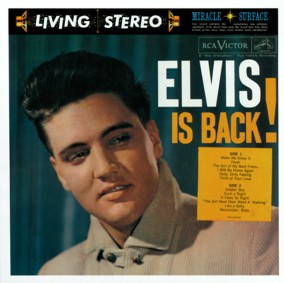 Elvis Is Back! - cover