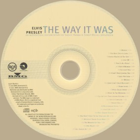 The Way It Was - disc
