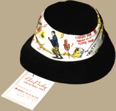 1956 Elvis Presley Original Hat - one of the first merchandising products ever, manufactured for a singer